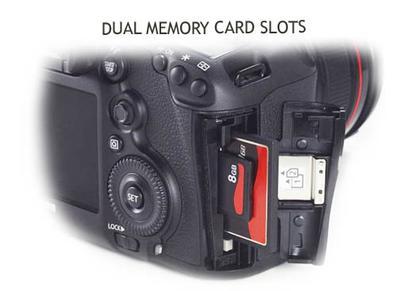 Canon 5D Mark III - Dual Memory Card Slots