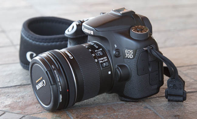 Canon EOS 70d with EF-S 10-22mm lens