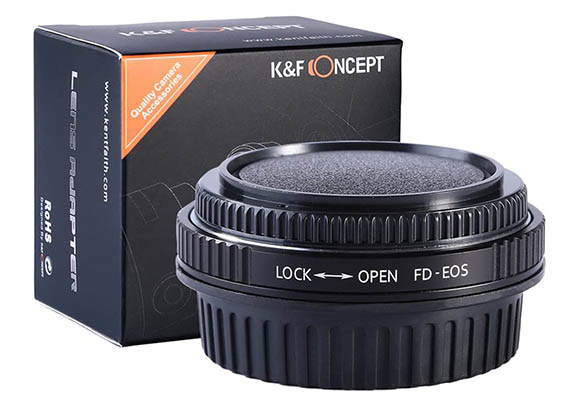 Canon FD to EOS lens adapter