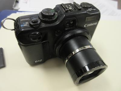 Stuck Lens on Canon G12