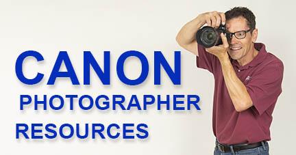 Canon photographer resources