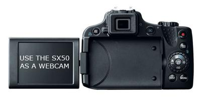 Canon SX50 HS LCD Screen