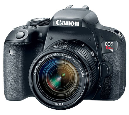 Canon Rebel camera t7i