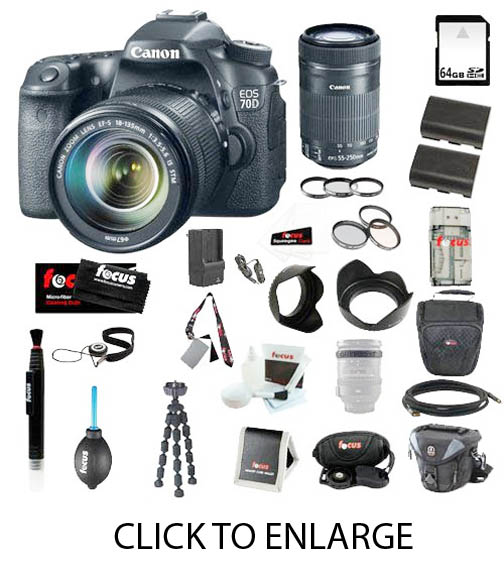 Complete 70D Camera Bundle