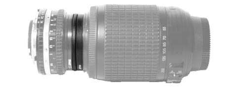 End-to-end lenses joined by coupling rings