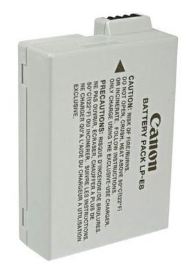 Canon t3i battery LP-e8