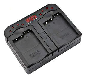 Dual battery charger for Rebel t3i