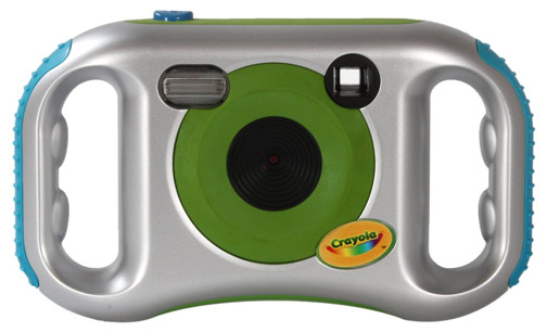 The Crayola Kids Camera is super easy to hold.