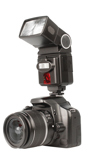 Flash gun on Canon DSLR