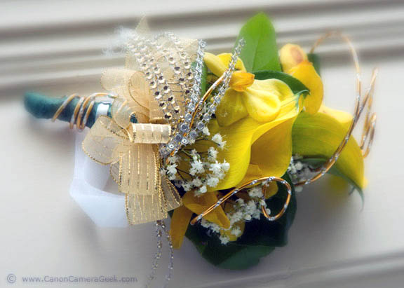 Flower Corsage Close-up