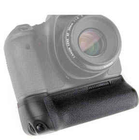 Front of Vello Battery Grip