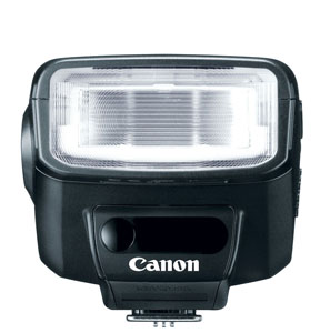 Front view of Canon 270EX II Speedlite