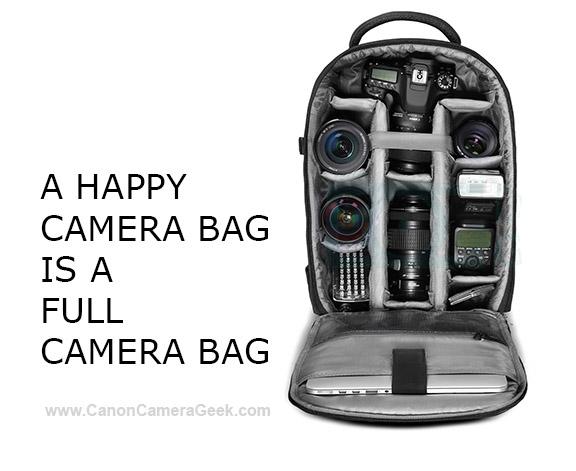 full camera bag