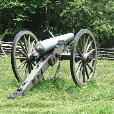 Gettysburg cannon shot with Canon G1X Mark II