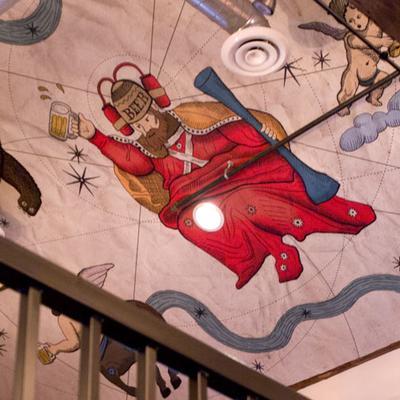 Ceiling Art - G1X Mark II - State College PA