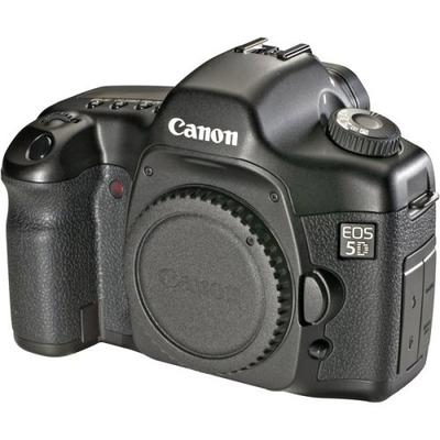 The Original Canon EOS 5D Mark I Camera