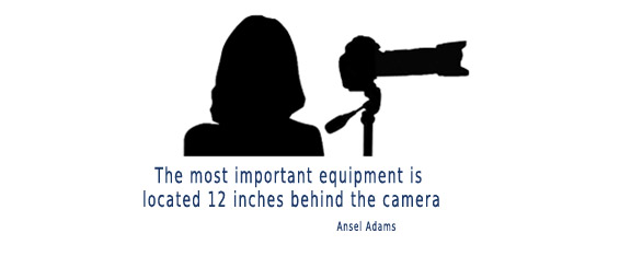 The most important equipment is behind the camera
