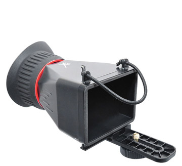 LCD Hood for Canon DSLR Cameras