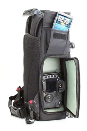 Left Side View of Canon Sling Camera Bag