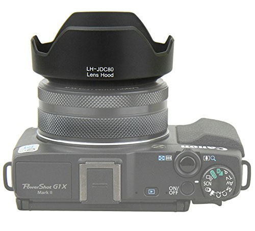 Photo of Lens Shade for the Canon Powershot G1X Mark II Camera
