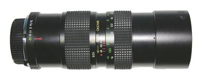 A Quantaray Was My First Zoom Lens