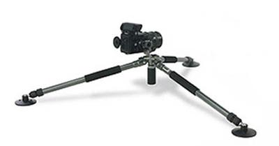Short or no center pole tripod