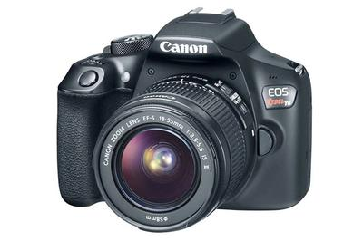 Canon Rebel t6<br>Takes SD Memory Cards