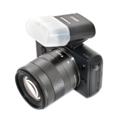 Not so good diffuser for Canon Speedlite