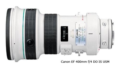 Canon 400mm f/4.0 lens