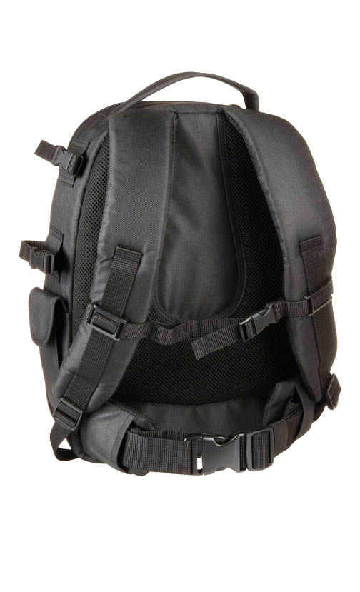 Padded Shoulder Straps on DSLR Backpack