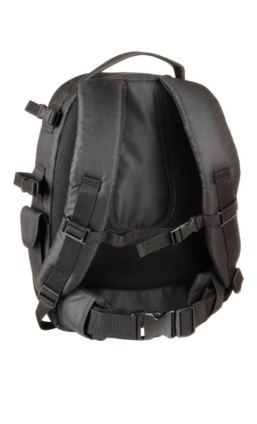 Padded Shoulder Straps on DSLR Backpack