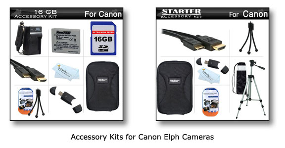 Canon Elph Accessories kits