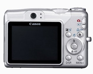 Canon Powershot A700 LCD Screen
