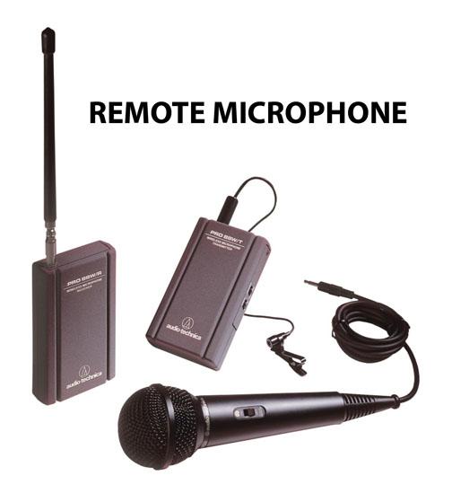 Remote Video Microphone Accessory