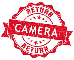 Returned camera stamp