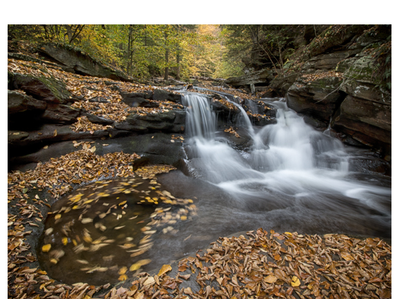 Ricketts Glen-Whirlpool and Waterfall - 70d - 10-18mm combo
