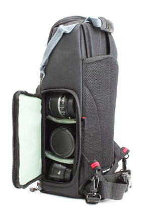 Right Side View of Canon Sling Camera Bag