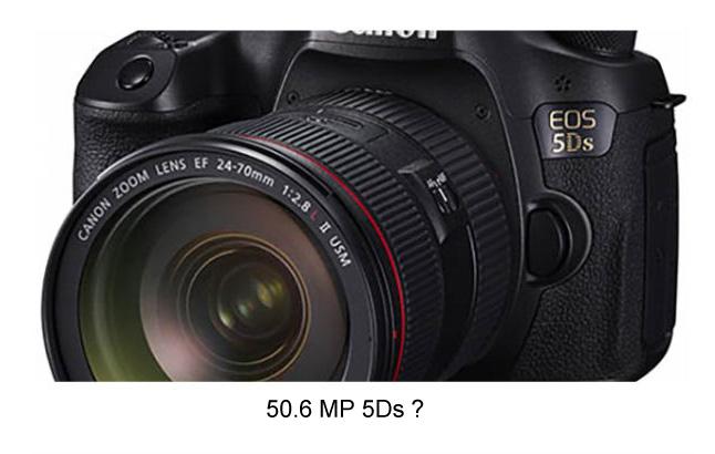 Rumored Canon 5DS Camera
