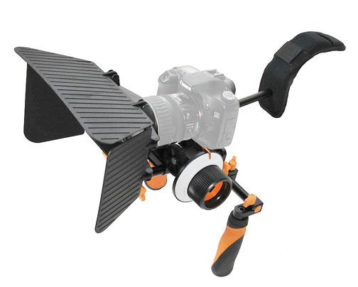 Shoulder Rig for Canon DSLR Video Shooting