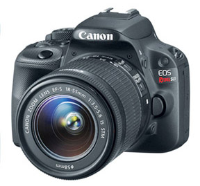 World's smallest DSLR -Canon eOS SL1