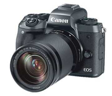 Canon M5 Mirrorless Camera