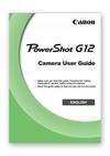 Canon Powershot G12 User Guide