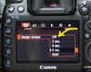 Canon Playback Setting in Menu