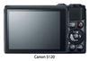 Canon S120-view of back of LCD screen