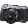 Canon M6 II Mirrorless Camera
