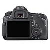 Back view of EOS 60D