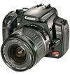 Black Canon Rebel XT