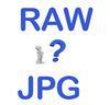 Raw versus jpg
