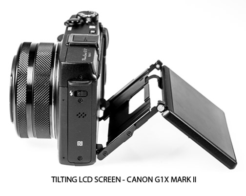 tilting LCD Screen - Canon G1X Mark III