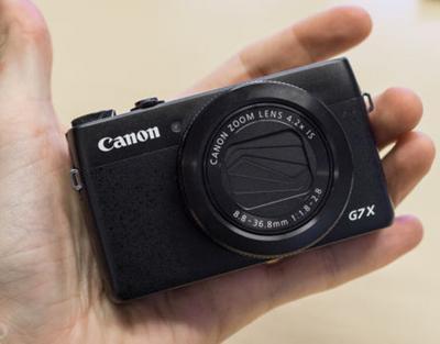 Love the G7X Mark II Size!